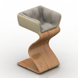 Armchair R&L Design 3d model