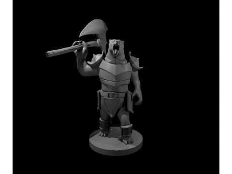 Armored Werebear