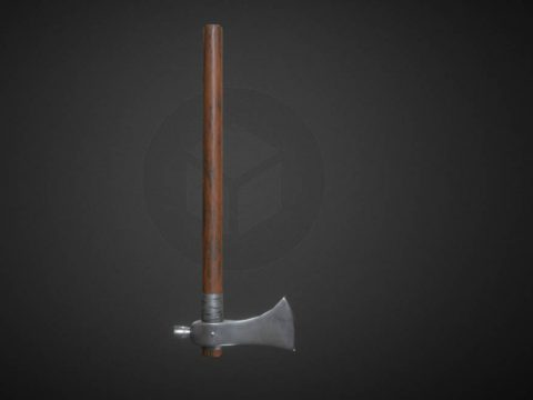 Axe Low Poly