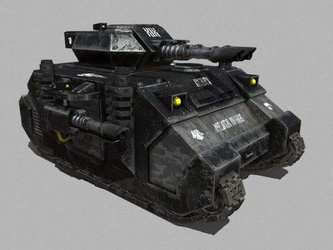 Battle Tank Predator Raven Guard Warhammer 40K