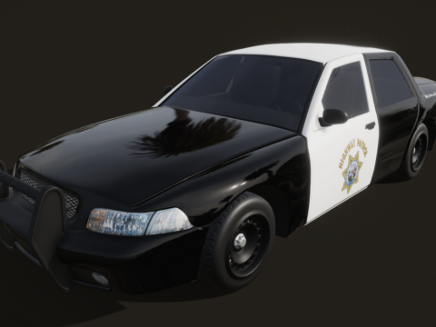 California Highway Patrol Car