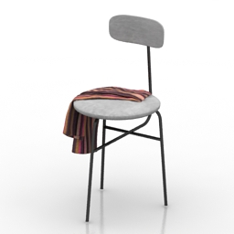 Chair Afteroom 3d model