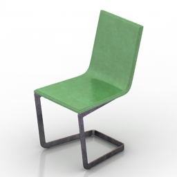 Chair Lineal Comfort 3d model