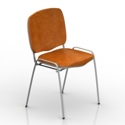 Chair office standart 3d model