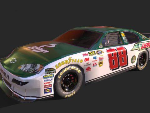 Chevy Impala National Guard NASCAR