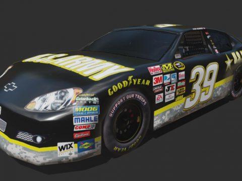 Chevy Impala US Army NASCAR