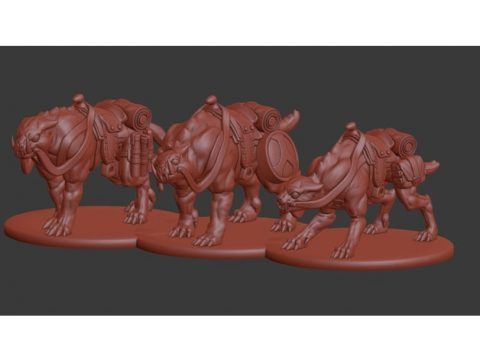 Critical Role Moorbounder Miniatures