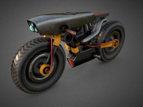 Cyberpunk Bike Concept Design