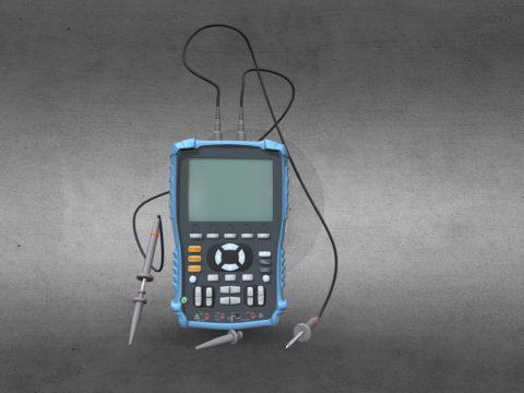 Digital storage oscilloscope Akip 4125/1