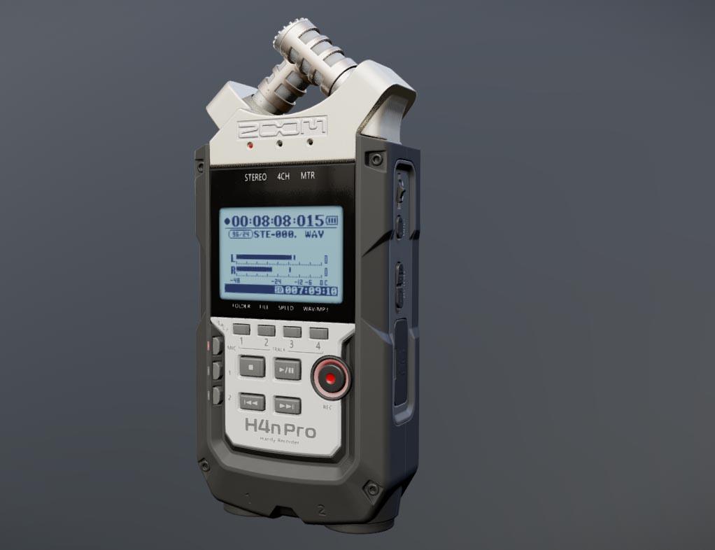 H4n Pro Audio Recorder