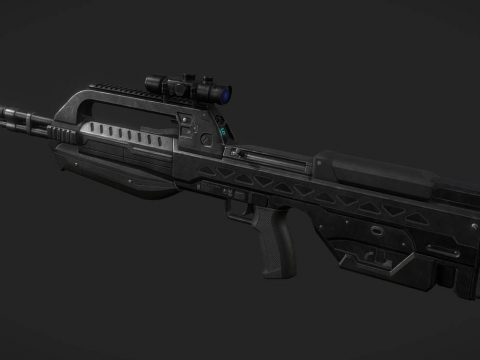 Halo 2 - BR55 Heavy Barrel Service Rifle