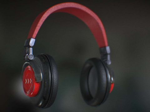 3D Headphones model