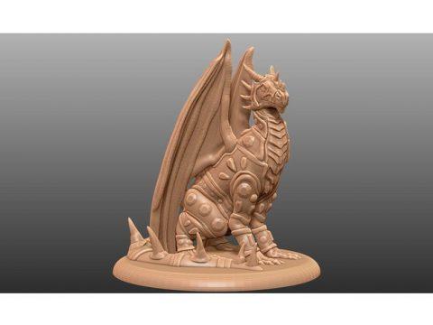 Jeweled Dragon - Tabletop Miniature