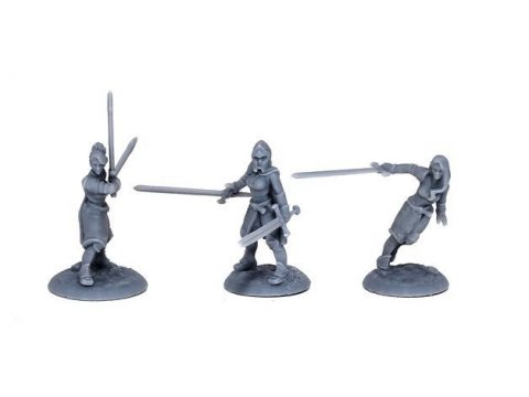 Lady Knights (multiple poses)