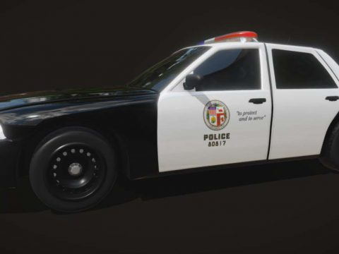 Los Angeles Police Department car
