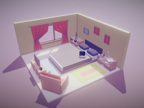 Bedroom 3D models free download | DownloadFree3D com