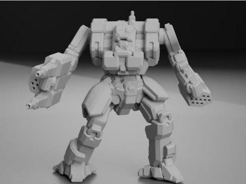 "MLX-Prime ""Mist Lynx"" AKA ""Koshi"" for Battletech"