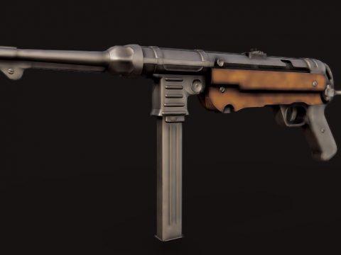 MP40 (Machine Gun Pistol)