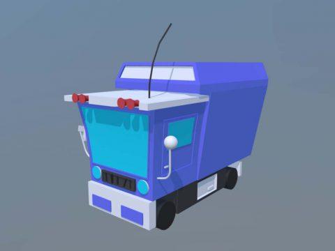 Mini cartoon Truck