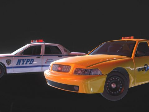 New York Police and Taxi