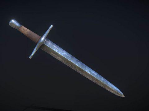 Old Battered Sword (Sceard)