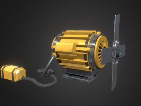 Old Fan Motor