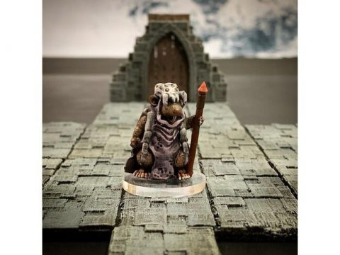 Ratfolk Druid Mother (32mm scale)