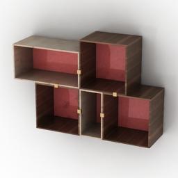 Shelves by Julien De Smedt 3d model