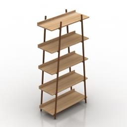 Shelves darcey 3d model