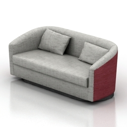 Sofa Brabbu Earth 3d model