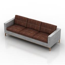 Sofa Foster 3d model