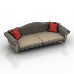 Sofa mexo vincent 3d model