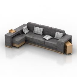 Sofa rack 3d model
