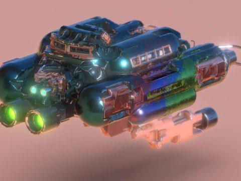 SpaceCraft Nº02SC