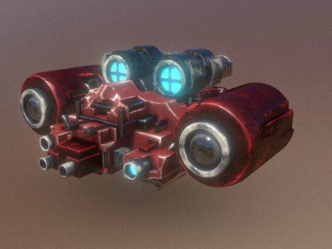 SpaceCraft Nº01SC
