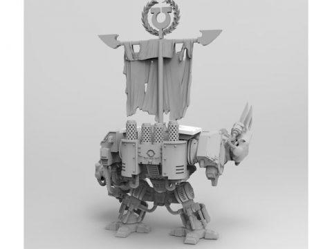 Super Old Potty Head Boxy Robot