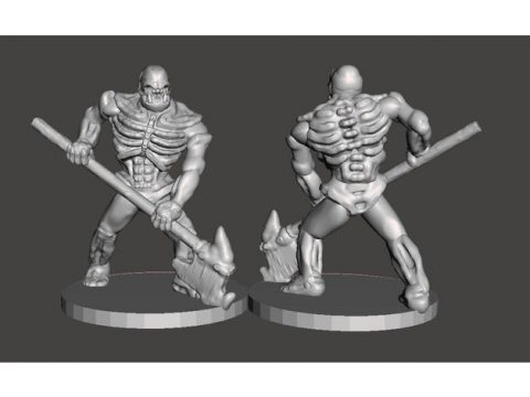 Supportless Orc Skelly