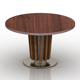 Table TAVOLO Dialma Brown New 3d model