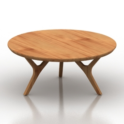 Table mesa dotta 3d model