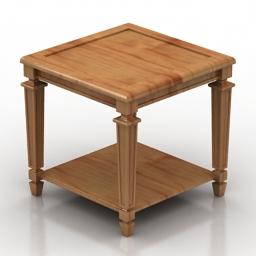 Table misendemeure fontainebleau 3d model
