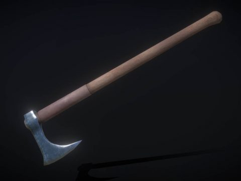 Two Handed Battle Axe