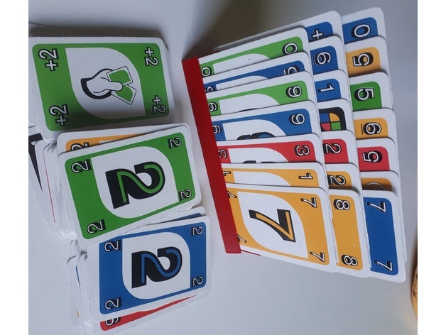 UNO playing card holder