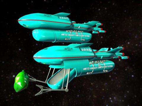 United Galaxy Sanitation Patrol Cruiser 130m