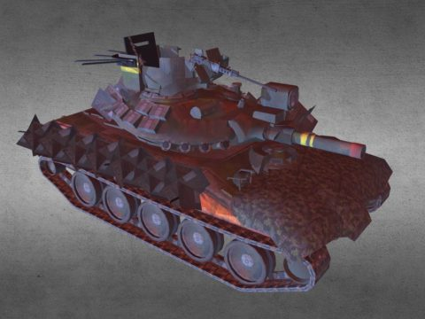 Venezuela Cavalera Light Tank M-551