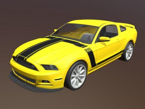 3d Model Sport Car