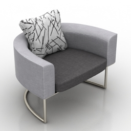 Armchair ital 3d model