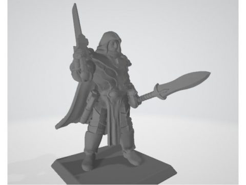 Battlemage - Spear and Sword