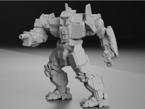 "CN9-YLW Centurion ""Yen-Lo-Wang"" for Battletech"
