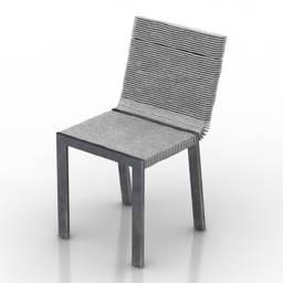 Chair Lago Steps 3d model