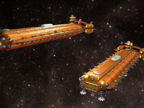 Dromedary Super Freighter 2,048 Containers